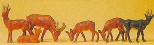 Preiser HO 14178 Reindeer Set #2 (6)