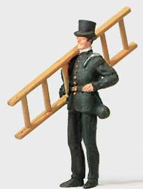 Preiser HO 28080 Chimney Sweep with Ladder