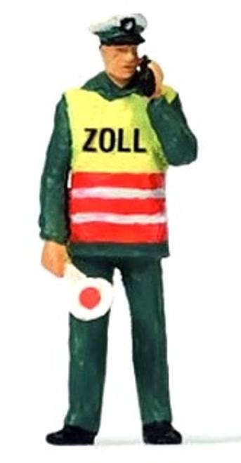 Preiser HO 28100 Customers Officer with Safety Vest
