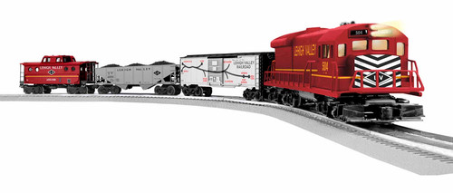 Lionel O 1923090 U36B Freight LionChief Set with Bluetooth, Lehigh Valley