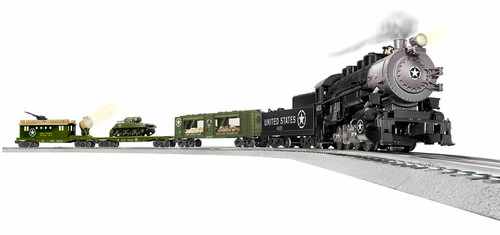 Lionel O 1923100 Steam LionChief Set with Bluetooth, US Army