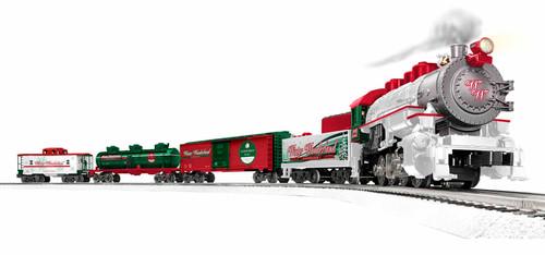 Christmas Winter Wonderland LionChief Lionel Train Set