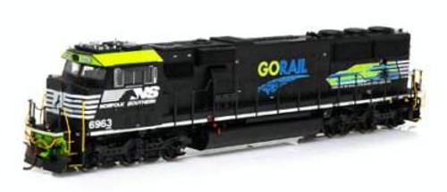 Athearn Genesis HO G65208 SD60E, Norfolk Southern (GoRail) #6963