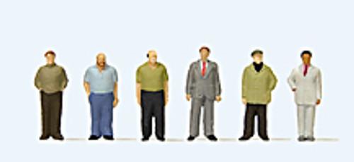 Preiser N 79223 Standing Men (6)