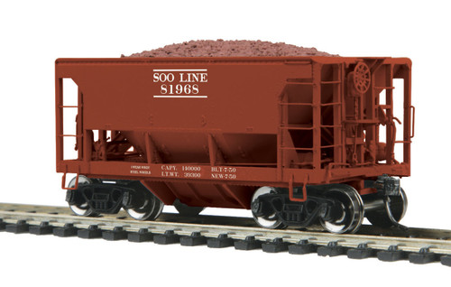 MTH HO 80-97042 70-Ton Center Discharge Ore Car, Soo Line #81968