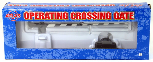 Atlas O 6948 Operating Crossing Gate (Black/White)