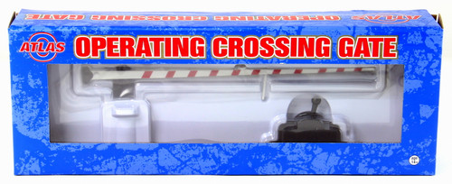 Atlas O 6949 Operating Crossing Gate (Red/White)