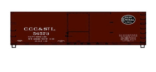 Acurail HO 81171 USRA Double-Sheath Wood Box Car Kit, Cleveland Cincinnati Chicago and St. Louis (NYC) #56573