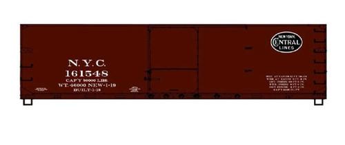 Acurail HO 81173 USRA Double-Sheath Wood Box Car Kit, New York Central #161548