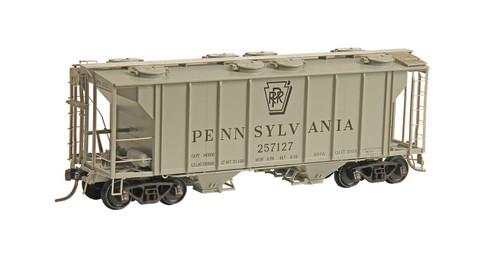 Kadee HO #8341 PS-2 2-Bay Hopper, Pennsylvania Railroad #257127