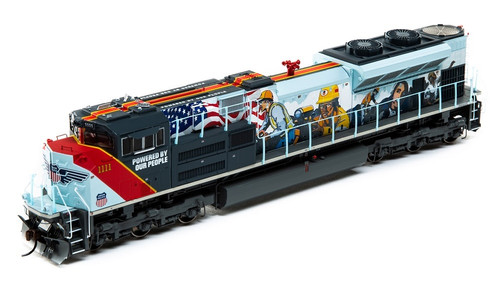 "Athearn Genesis HO G01111 SD70ACe, Union Pacific ""Powered By Our People"" #1111 (Sound and DCC Equipped)"
