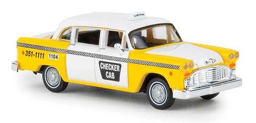 Brekina HO 58924 1950s-1982 Checker Taxi Cab Atlanta