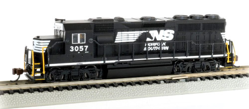 Bachmann Spectrum N 66355 EMD GP40, Norfolk Southern #3057 (Econami Sound and DCC)