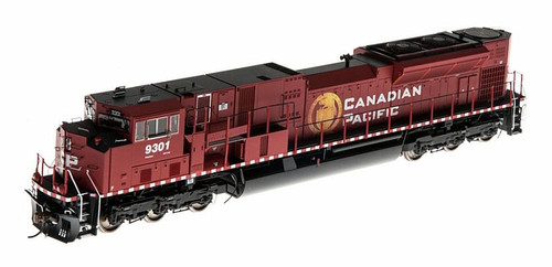 Athearn Genesis 2.0 HO G27331 G2 SD90MAC-H Phase II, Canadian Pacific #9301 (DCC and Sound Equipped)