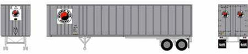 Athearn HO 15658 40' Exterior Post Trailer, Northern Pacific #20-745