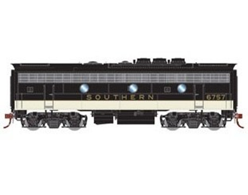 Athearn Genesis HO G12410 F7B, Southern (Freight) #6757 (DCC and Sound Equipped)