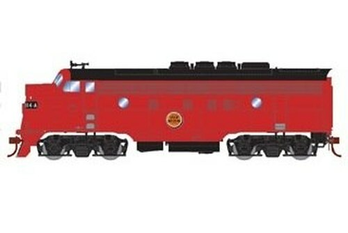 Athearn Genesis HO G22698 F3A/F7B, Chicago Great Western #114a/116f (DCC and Sound Equipped)