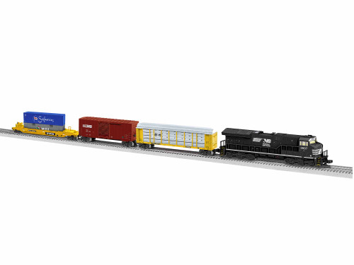 Lionel O 1923050 Tier 4 LionChief Set, Norfolk Southern (Equipped with Bluetooth)