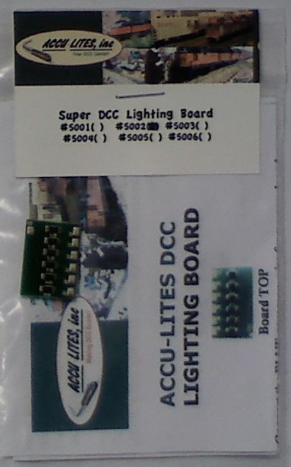 Accu-Lites 5002 Super DCC LED Lighting Board Only (LEDs Not Included)