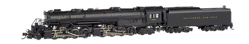 Bachmann N 80853 EM-1 2-8-8-4 Later Small Dome Steam Engine, Baltimore and Ohio #7623 (DCC Sound Value on Board)
