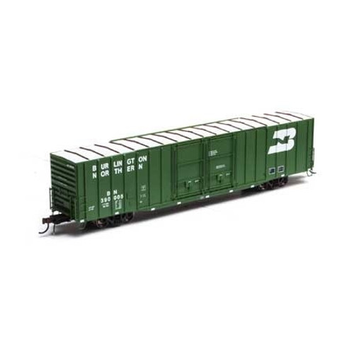 Athearn Genesis HO G67795 60' PS Auto Parts Box Car, Burlington Northern #390005