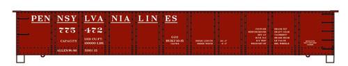 Accurail HO 3772-775472 41' Steel Gondola Kit, Pennsylvania Lines #775472