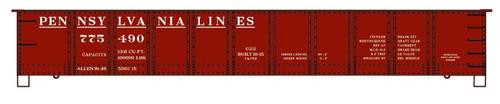 Accurail HO 3772-775490 41' Steel Gondola Kit, Pennsylvania Lines #775490