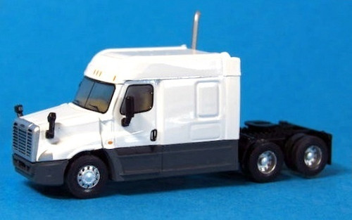 Trainworx N 42532 Freightliner Cascadia Mid Roof Tractor, White
