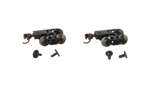 Bachmann N 42536 Friction Bearing Freight Trucks with Metal Wheels (6)