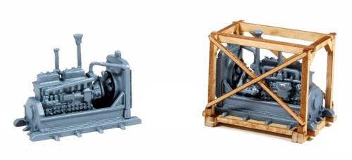American Model Builders HO 221 Crated Diesel/Generator Load Kits (2)