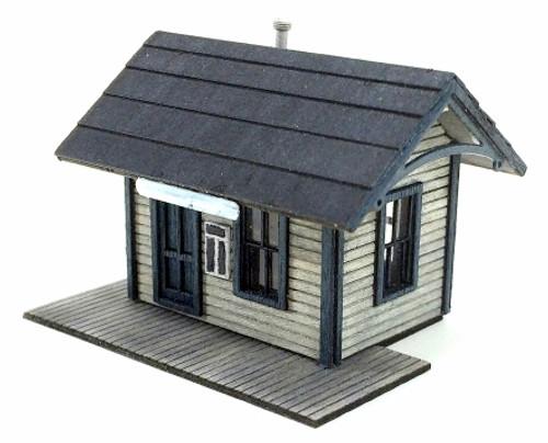 American Model Builders N 631 Branchline Station Kit