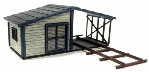 American Model Builders N 632 Gandy Dancer's Shed Kits (2)