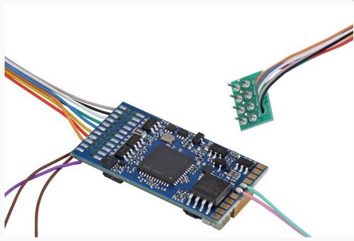 ESU HO/O 58420-S0523 LokSound 5 DCC Decoder with 8-Pin NEM652, GE 12-GEVO Sounds