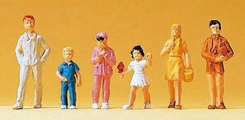 Preiser HO 14126 Children (6)