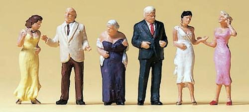 Preiser HO 10436 Formal Dressed Guests (6)