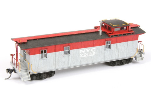 "American Model Builders HO 888 Long Wood Cupola Caboose Kit, New York Central (""Pacemaker"" Scheme) #20132"