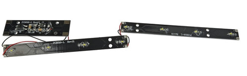 Walthers Proto HO 920-1062 Passenger Car Interior Constant-Intensity LED Lighting Kit for Full-Length Dome Cars