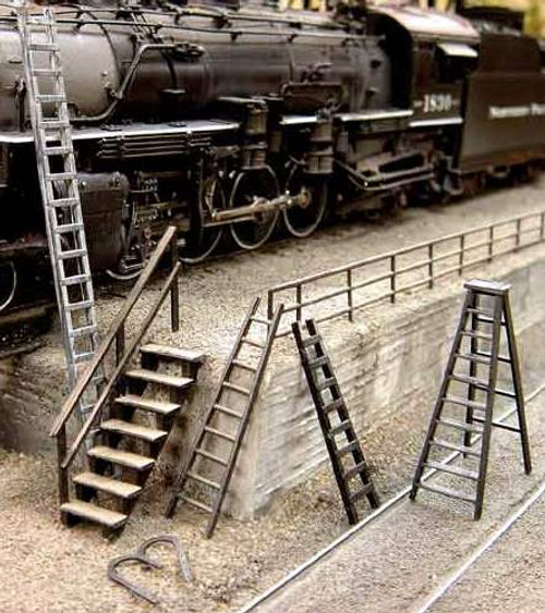 Central Valley Model Works HO 1600 Ladder and Fence Mixed Pack