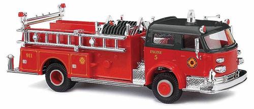 Busch HO 46018 1968 American LaFrance Closed-Cab Pumper, Fire Department Engine 2