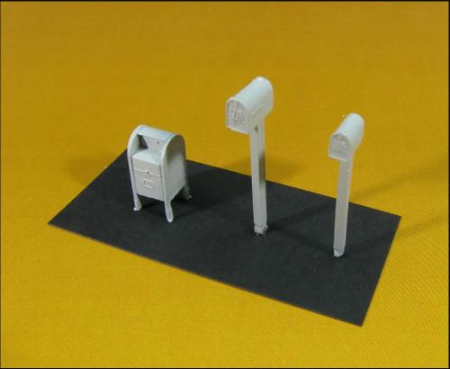Showcase Miniatures HO 2339 Mailbox Set