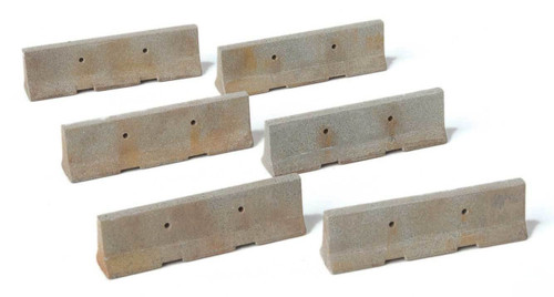 Walthers SceneMaster HO 949-4175 Jersey Barriers (24)