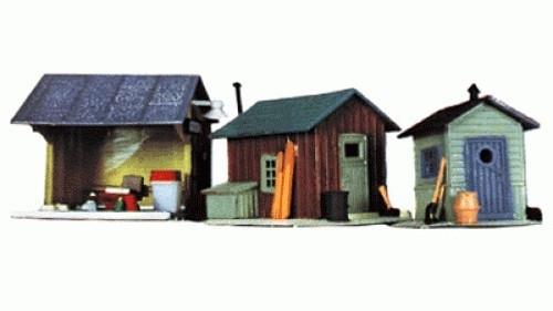 Life-Like HO 433-1348 Trackside Shanty Kits (3)
