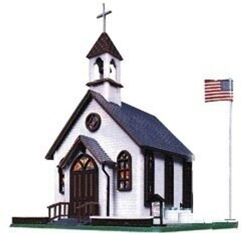 Life-Like HO 433-1350 Town Church Kit