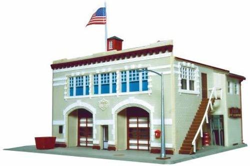 Life-Like HO 433-1390 Hampden Fire Engine House #46 Kit