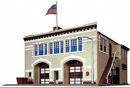 Life-Like N 433-7483 Volunteer Fire Company Kit