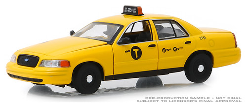 Greenlight Collectibles O 86164 2011 Ford Crown Victoria, NYC Taxi (1:43)