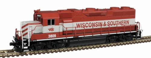 Atlas Master Line N 40003605 Silver Series GP38-2 Locomotive with Low Hood, Wisconsin and Southern #3813