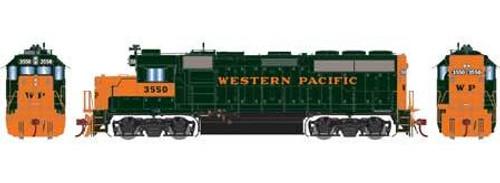 Athearn Genesis HO G65157 GP40-2, Western Pacific #3551