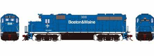 Athearn Genesis HO G65160 GP40-2, Boston and Maine #300
