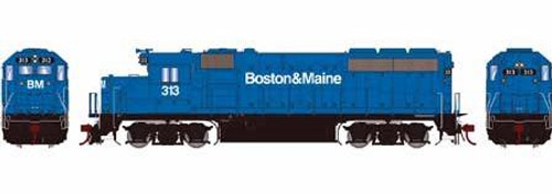 Athearn Genesis HO G65162 GP40-2, Boston and Maine #313